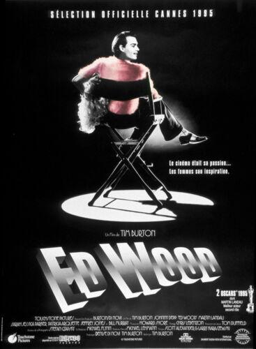 Tim Burton Movie Film  #3 A3//A4 size POSTER 1994 ED WOOD