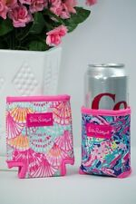 LILLY PULITZER - Drink Hugger Set of 2 - Shrimply Chic and Oh Shello