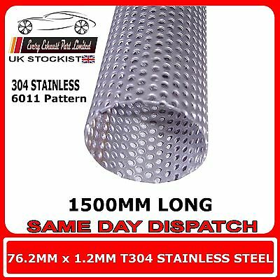 30mm x 1.2mm Stainless Steel T304 Tube 250mm Long