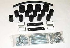 """PERFORMANCE ACCESSORIES 5073 3"""" BODY LIFT KIT FOR 86-88 TOYOTA PICKUP 2WD / 4WD"""