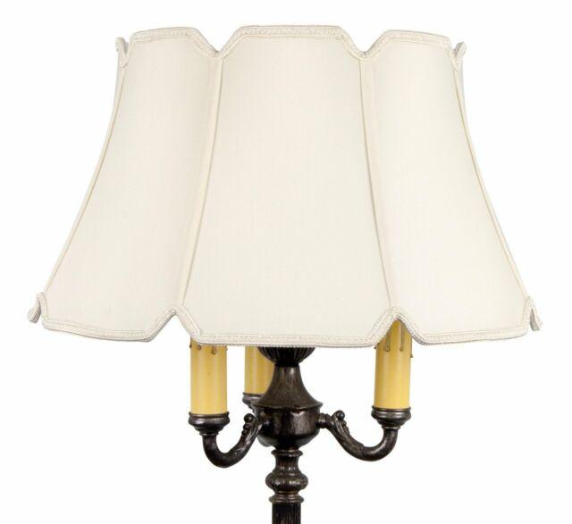 Upgradelights Floor Lamp Drum Lamp Shade Replacement 19 Inch