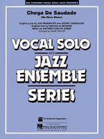 Chega De Saudade No More Blues Vocal Solo Jazz Ensemble Series 007500115