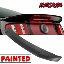 For 2010 2014 Ford Mustang Coupe Gt500 Style Paintable Abs Trunk Spoiler Wing Fits Mustang