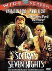 Six Days, Seven Nights (DVD, 2002)