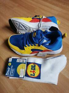Baskets-Sneakers-Lidl-Unisex-T37-Size-4-Edition-Limite-Neuves-Femme-Homme