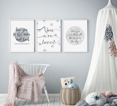 Print you are enough A4 Size Print Wall print nursery print
