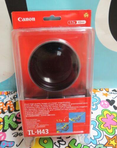 Canon Tele-Converter 1.7X Lens TL-H43 BRAND NEW for Vixia Camcorders