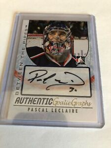 2007-08-ITG-Between-The-Pipes-Pascal-Leclaire-Goalie-Graphs-Auto-A-PL