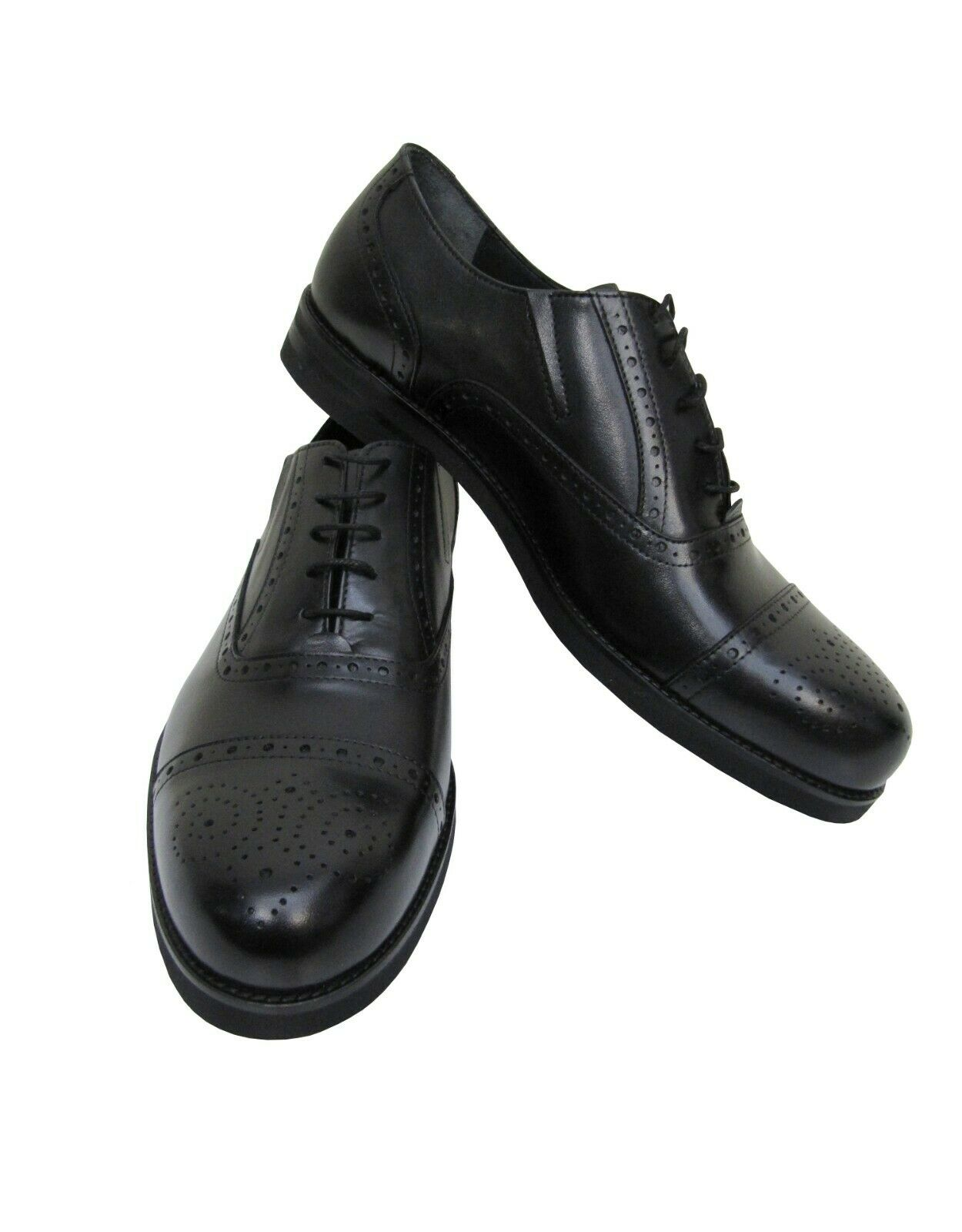 Herren Schuhe echt Leder Klassisch Gr.46 Schwarz Schwarz Schwarz  44e311