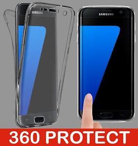 Pour-Samsung-Galaxy-S7-S8-S9-PLUS-Cas-antichoc-en-silicone-de-protection-housse-transparente