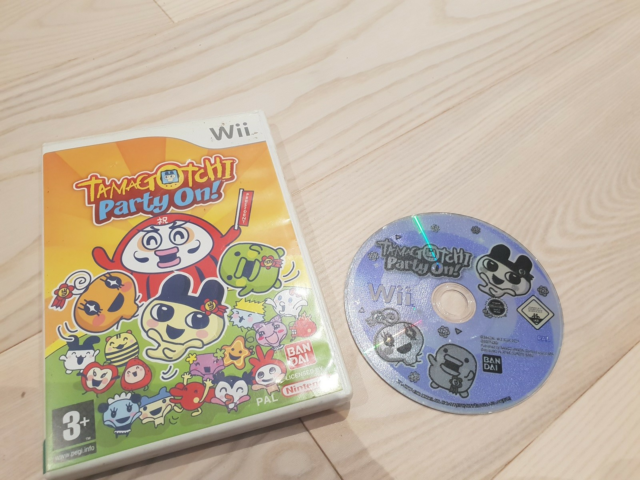 Tamagotchi party on!, Nintendo Wii, Sælger tamagotchi party…