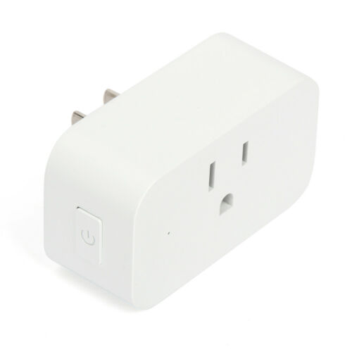 2X Wifi Smart Plug Remote Control Outlet Socket Work with Alexa/&Google Assistant