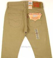 Levis 501 Jeans Original Mens Size 29 X 32 Timberwolf (khaki) 940
