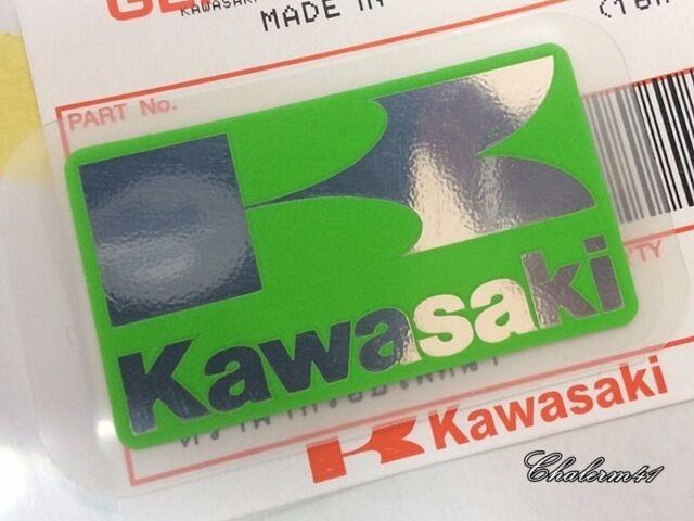 Kawasaki Brand NEW Genuine Original Ninja Fuel Tank Sticker Decal Black//White