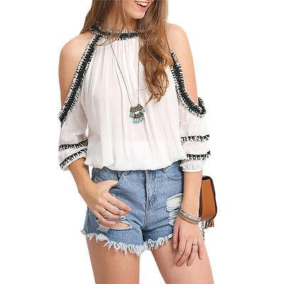 Fashion Chiffon Women Ladies Loose Casual Long Sleeve T-Shirt Blouse Tops Shirts