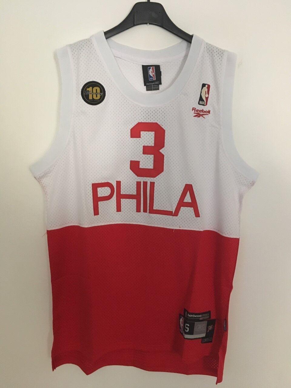 Canotta nba basket jersey maglia Iverson retro Philadelphia 76ers S M L XL XXL
