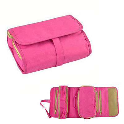 Cosmetic Jewelry Wash Hanging Toiletry Makeup Travel Storage Bag Case Organizer
