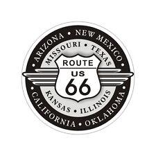 Sticker plastifié ROUTE Road 66 USA Harley Davidson - 7cm x 7cm