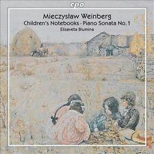 Weinberg: Piano Works: Children's Notebooks, Sonata No 1, Elisaveta Blumina, New