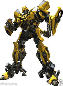 Transformers Movie Bumblebee Promo Shot Full Body Window Cling