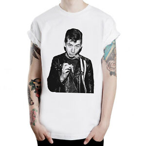 Alex-Turner-ciggy-ARCTIC-MONKEYS-rock-band-indie-cele-unisex-t-shirt