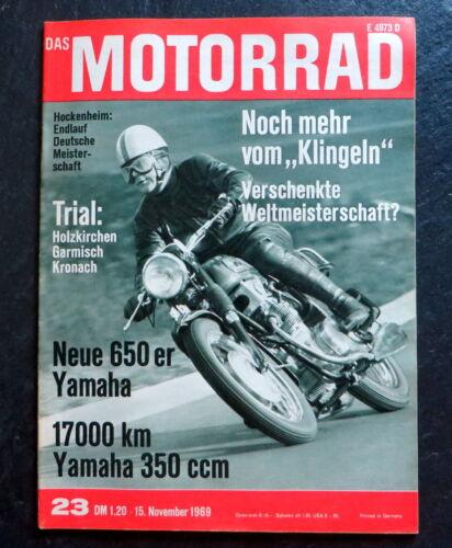 Automobilia Berichte & Zeitschriften Das Motorrad 23/69 Test ...