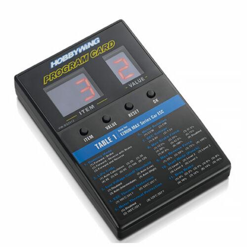 SEAKING Platinum Hobbywing hw30501003 Programmierbox DEL Universal Xerun Ezrun