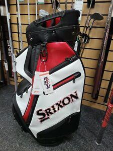 Srixon Tour Cart Bag - Black / white / red