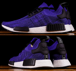 the latest aa5db 8341f Details about Adidas NMD R1 Primeknit Sneaker Men's Lifestyle Shoes Energy  Ink