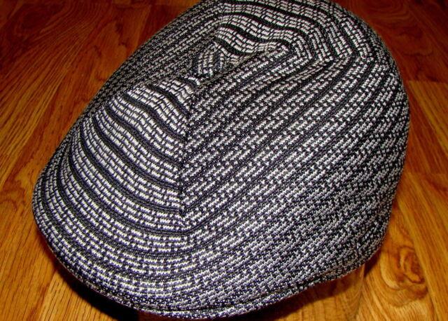 Mens Kangol  507  Code  Ivy  Cap  Color  Morse Stripe Black