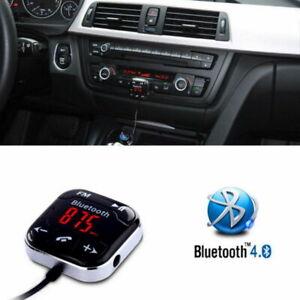 Handsfree-Wireless-Bluetooth-LCD-USB-MP3-AUX-SD-FM-Transmitter-Magnet-Car-Kit