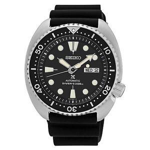 New-Seiko-SRP777-Prospex-Automatic-Diver-Black-Dial-Silicone-Strap-Mens-Watch