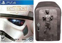 Star Wars Battlefront Playstation 4 Ps4 Limited Edition Han Solo Mini-fridge