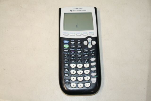 Texas Instruments TI-84 Plus Graphing Calculator- AS IS- Dead Pixels