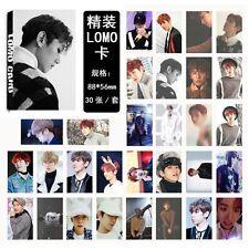 2017 30pcs EXO Baek Hyun Personal Photo Picture Poster Lomo Card 30pcs set