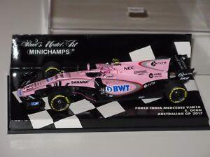 Force-India-Mercedes-VJM10-Australia-Gp-2017-Ocon-F1-1-43-Minichamps-Spark