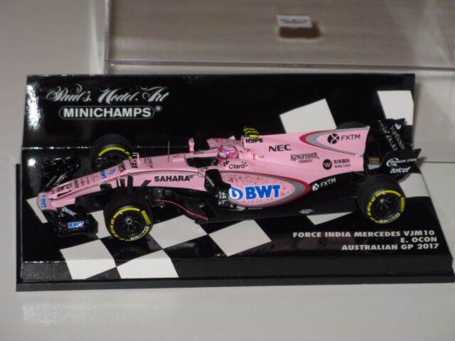 Force India Mercedes VJM10 - Australia Gp 2017  Ocon -  F1 1/43 Minichamps/Spark