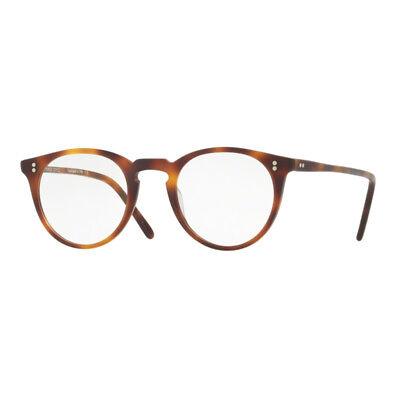 salvare 86479 8ee3e Glasses Eyewear Oliver Peoples 5183 O'Malley 1552 Mat Mahogany 47 + Hoya  Lens   eBay