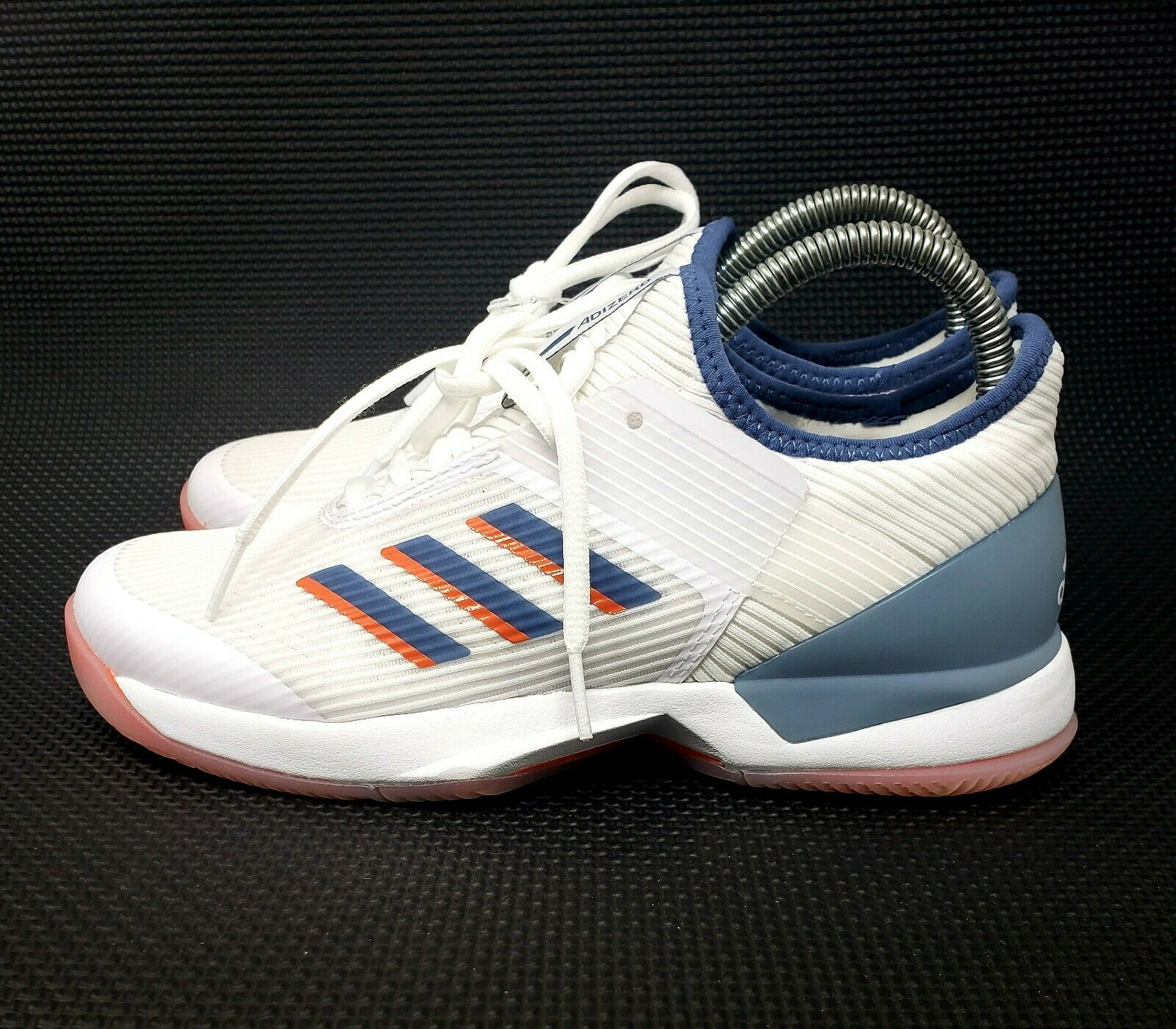 parrilla Barón Novio  adidas - Women`s Adizero Ubersonic 3 Jade Tennis Shoes Tactile Green and  Collegi 6 for sale online | eBay
