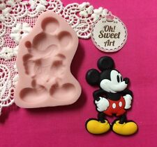 Mickey Mouse disney I Silicone Mold Food Cake Decoration soap wax fondant  (FDA)