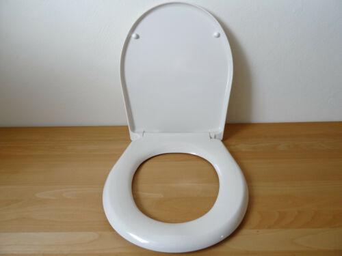 WC Sitz mit Deckel PERGAMON AntiBakteriell Click-System //
