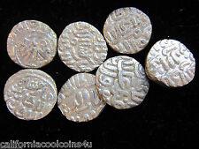 2- Coins of SULTANS OF DELHI - 1246-1555AD India Muslim - Billon Silver Content