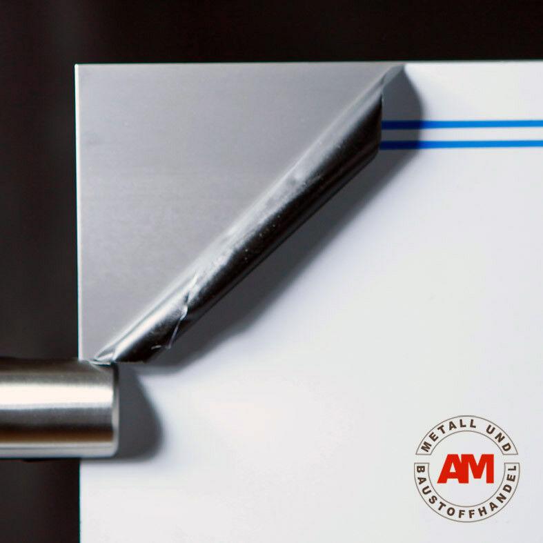 Edelstahl Blank 3000x1500x0,8mm Blech Großformatblech Glattblech nirosta Stahl