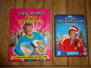 Mrs-Brown-039-s-Boys-Series-1-2-Complete-DVD-and-Mrs-Browns-Family-handbook