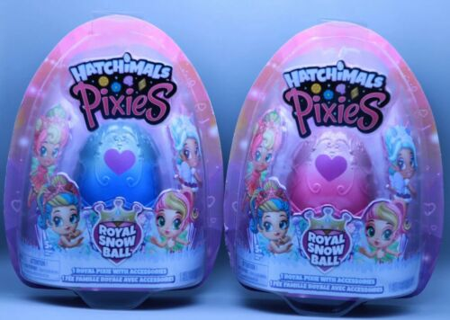 2.5-Inch Collectible Dolls and Accessories Hatchimals Pixies 2-Pack for Kids A
