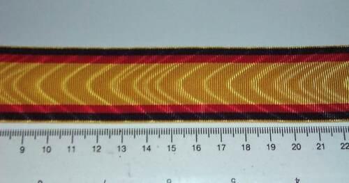 m9,80 Ordensband Reuss und Waldeck 35mm breit 0,5meter D450