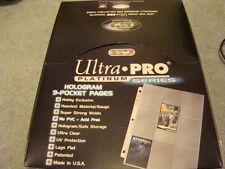 ~! Ultra Pro Platinum 100 Card Binder Sleeves Box Yugioh Magic Pokemon ~!