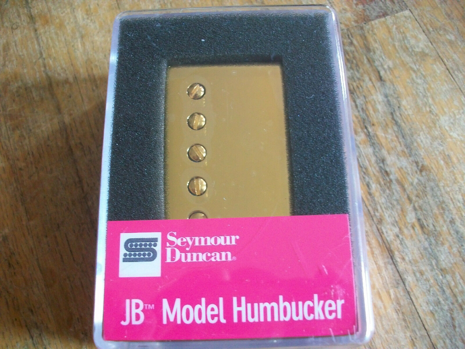 SEYMOUR DUNCAN JB SH-4 HUMBUCKER PICKUP Gold COVER NEW (11102-13-GC)