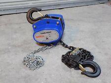 Heavy Duty Hand Chain Hoist 3 Ton Capacity 8 Ft Lift Max