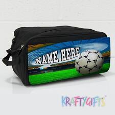 Personalizzata Calcio obiettivo Ragazzi Ragazze Nero Bootbag BOOT SCARPA SPORT BAG ST475